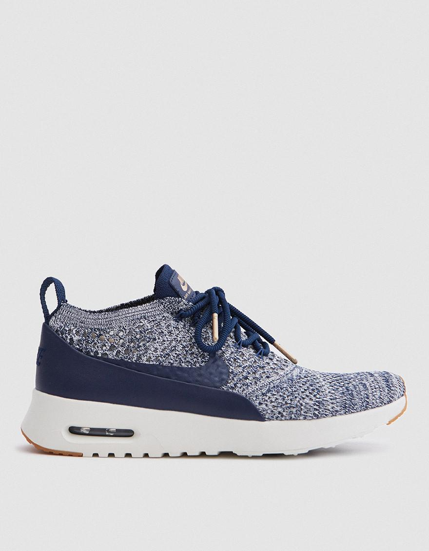 exclusive deals superior quality new products Nike Air Max Thea Ultra Flyknit in Blue - Lyst