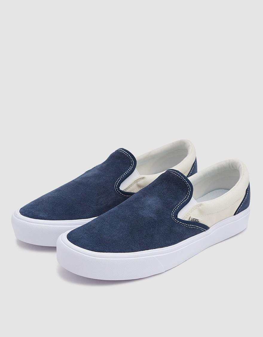 2633fb557b2935 Lyst Vans Slip On Lite Sneaker In Dress Blues Blue For Men