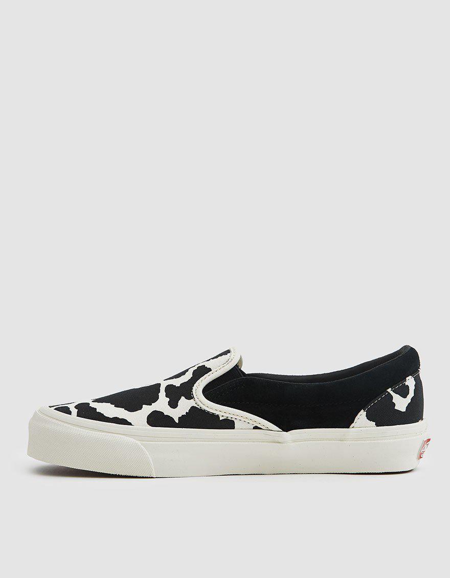 a5df58bb2d99 Lyst - Vans Og Classic Slip-on Lx Sneaker in Black for Men