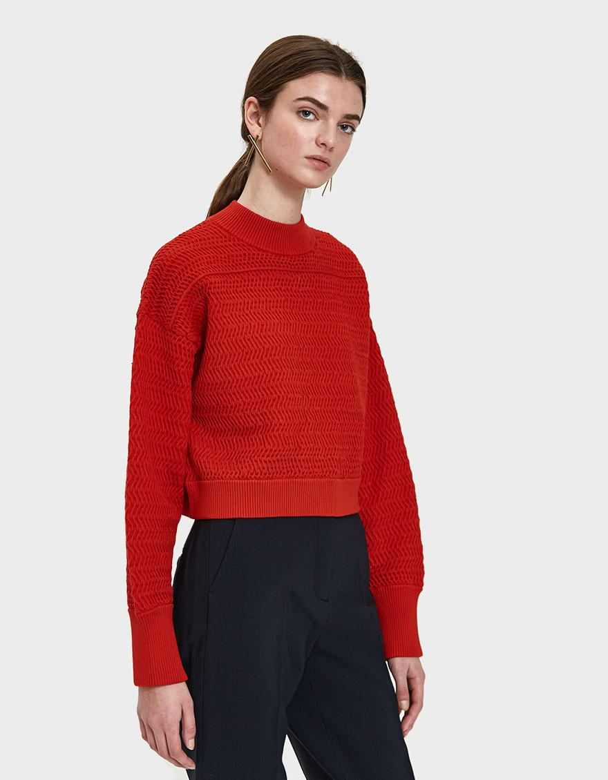 cropped fitted sweater - Grey 3.1 Phillip Lim Clearance Buy Clearance Professional Outlet Store Cheap Online For Nice Online tJx4gr1VGu