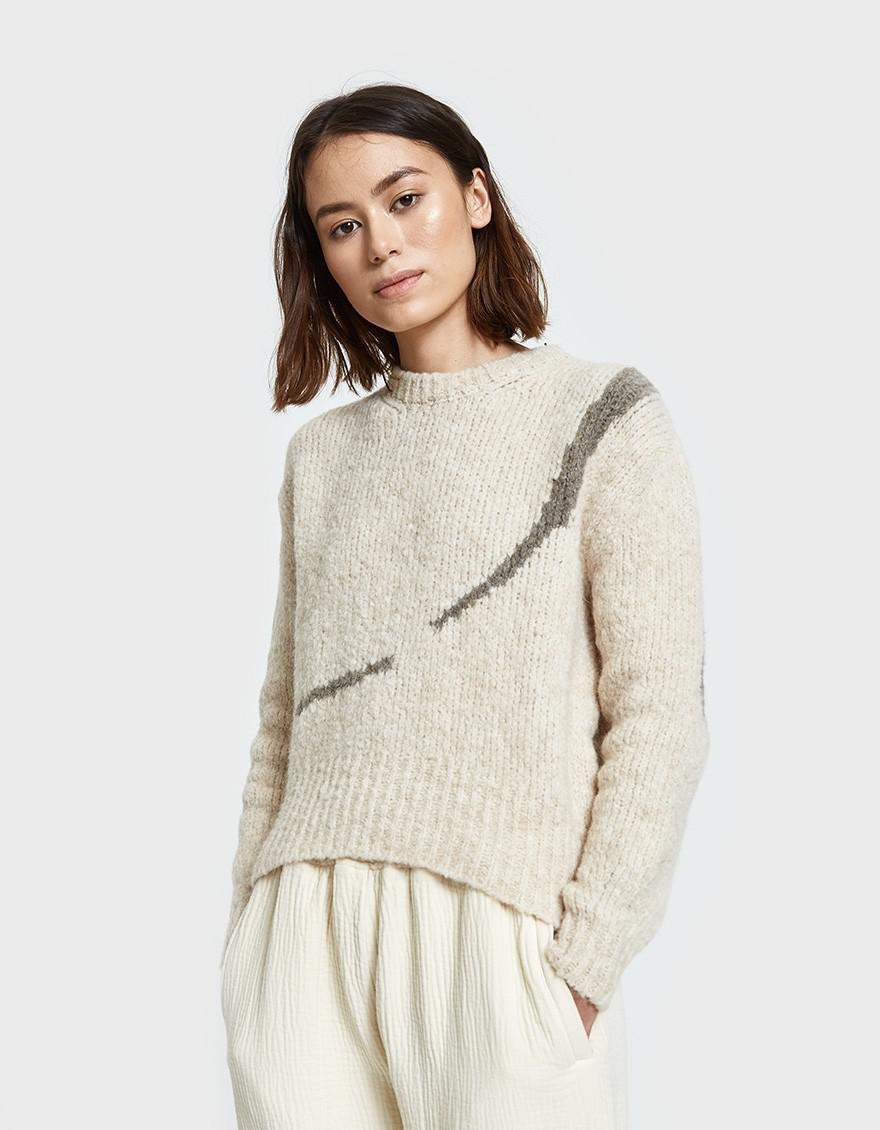 Paloma Wool Linda Listen Sweater In White Lyst