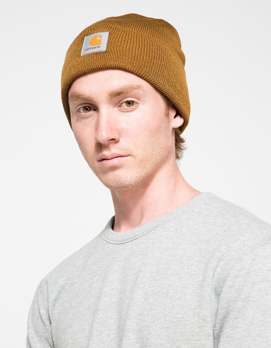 Lyst - Carhartt WIP Short Watch Hat in Blue for Men ef8aed3707b