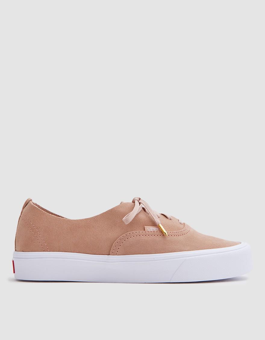 8868ea0d0f52b5 Vans Authentic Decon Rose Suede Skate Shoes t