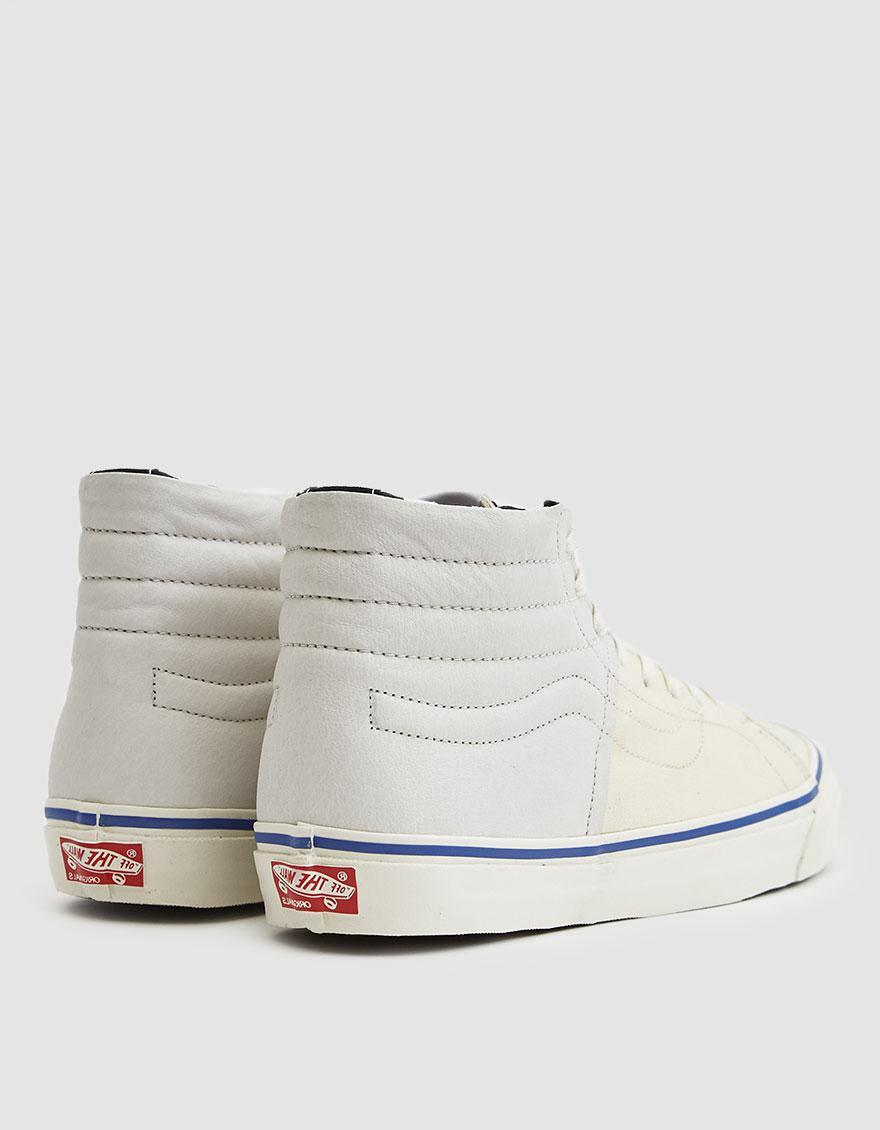 Lyst - Vans Inside Out Og Sk8-hi Lx Sneaker in White for Men b414e639e