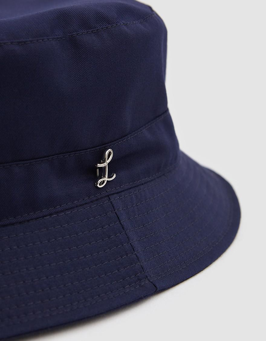738af20b6a5fd Larose Paris Water Repellent Bucket Hat In Navy in Blue for Men - Lyst