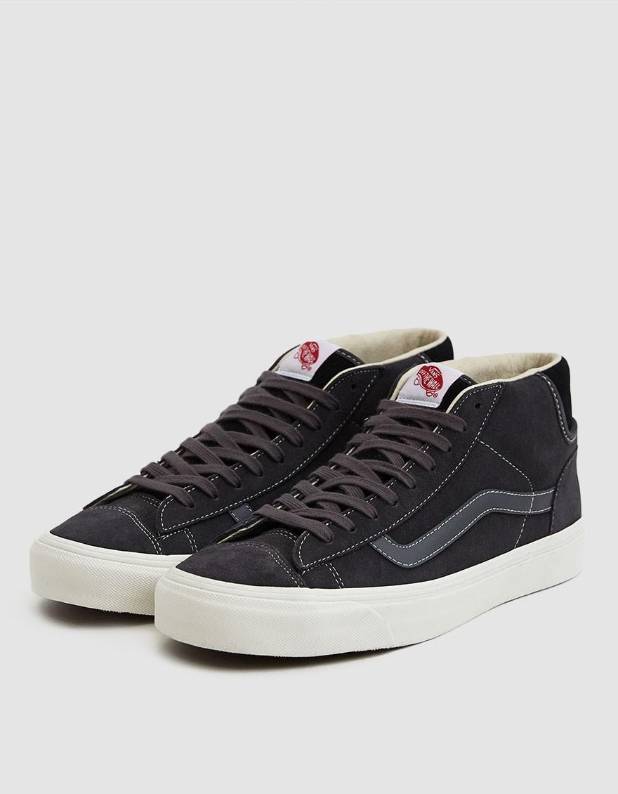 adc92f292d7 Lyst - Vans Og Mid Skool Lx Suede Sneaker in Black for Men