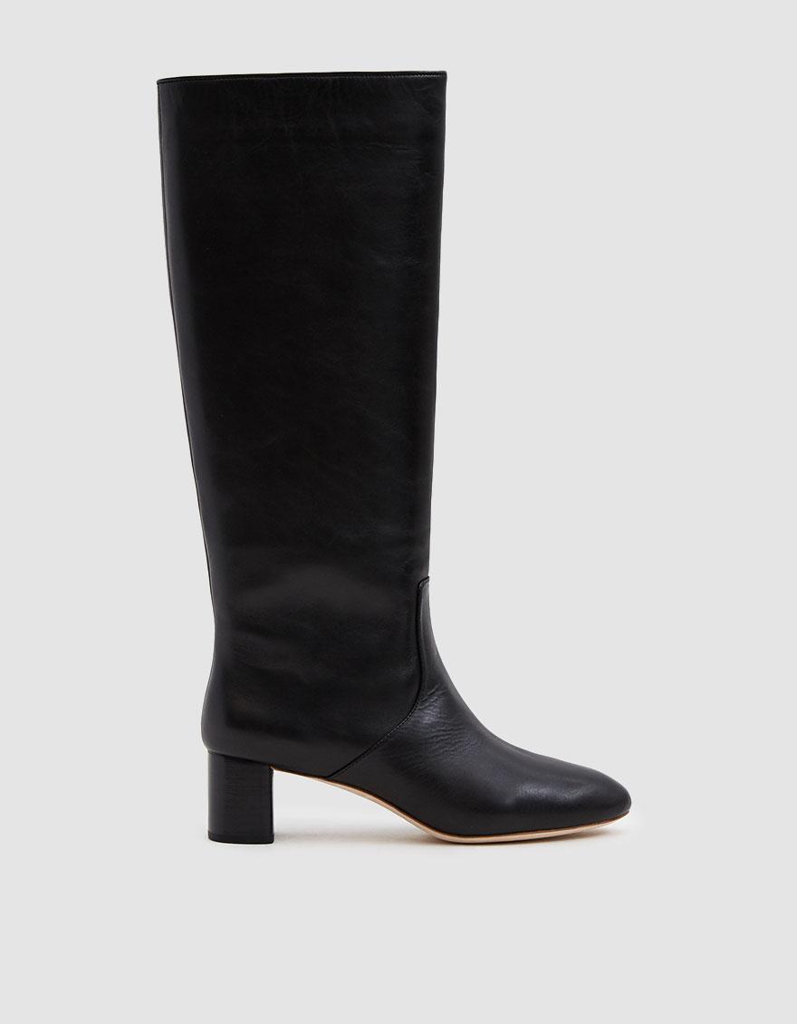 891b1e65e063 Lyst - Loeffler Randall Gia Almond Toe Tall Boot in Black