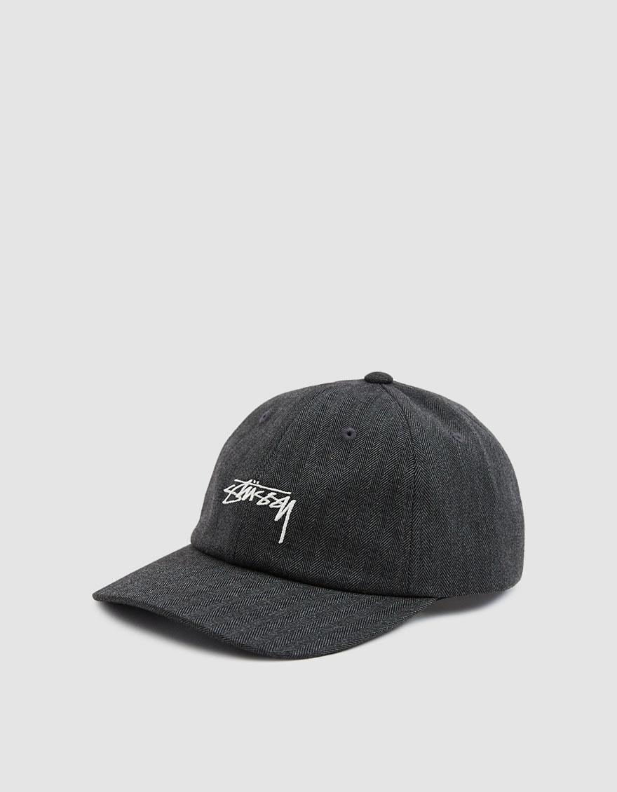 Lyst - Stussy Stock Herringbone Low Pro Cap in Gray for Men 699e1e09d949