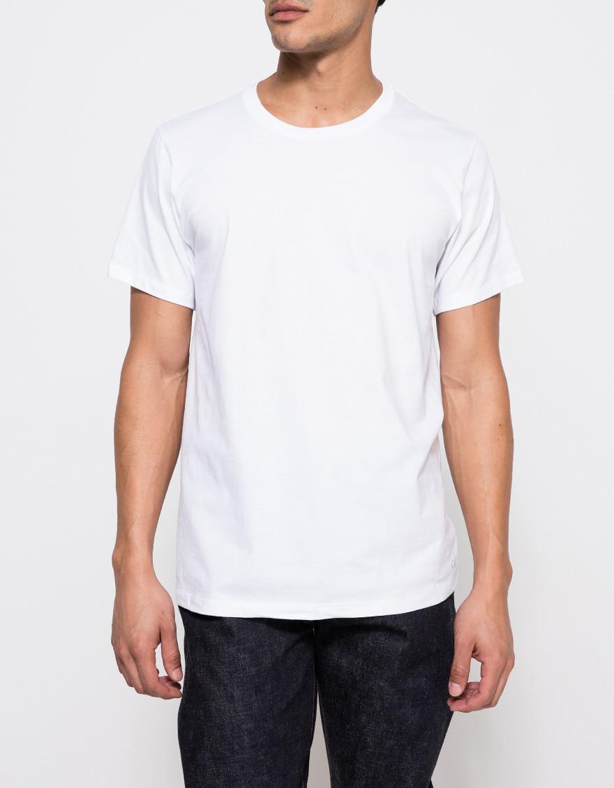 c0c56073ea Calvin Klein Classic S s Crew Neck T 3-pack in White for Men - Lyst