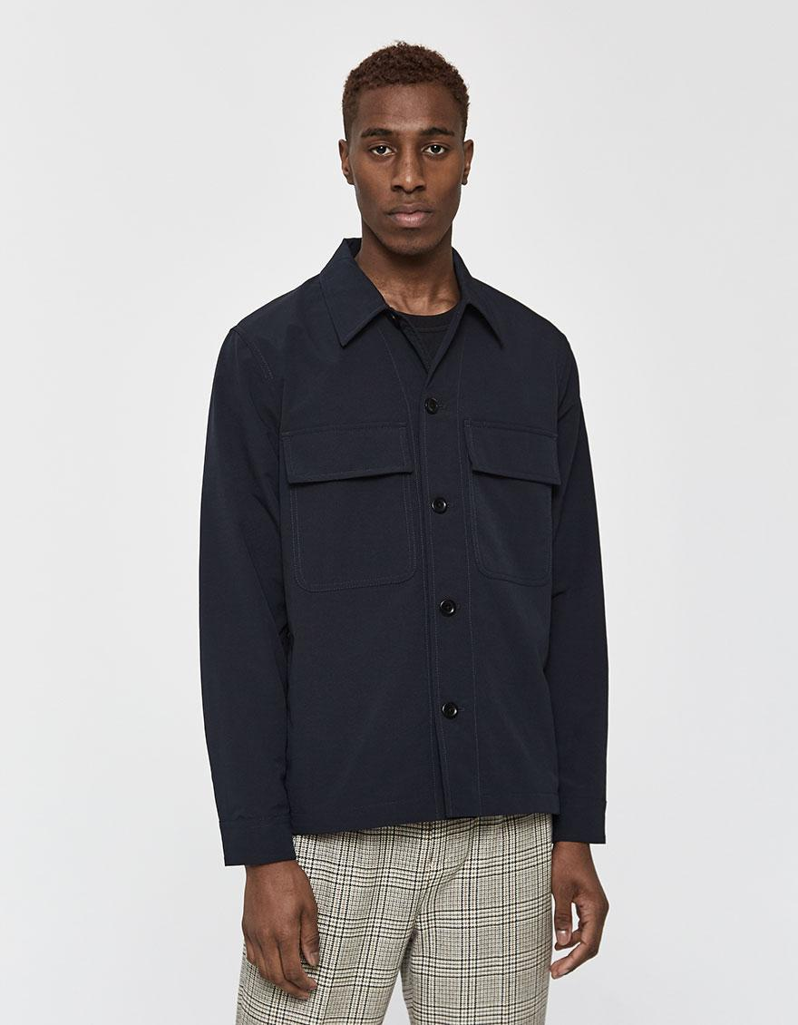 2c2c39fbf7 Norse Projects Kyle Travel Jacket in Blue for Men - Save 33% - Lyst