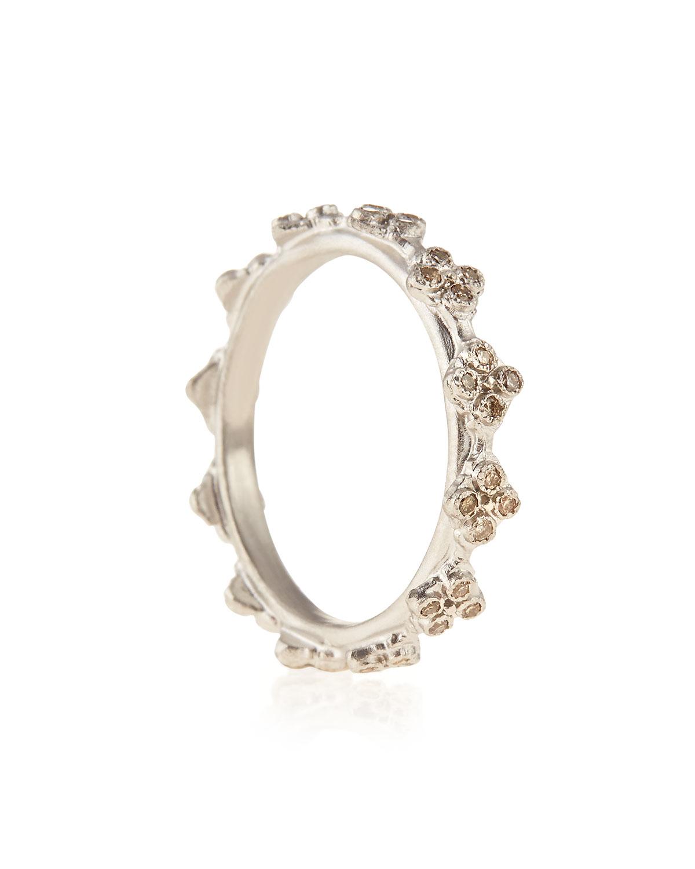 Armenta Diamond Crivelli Station Stackable Ring 5L0lD