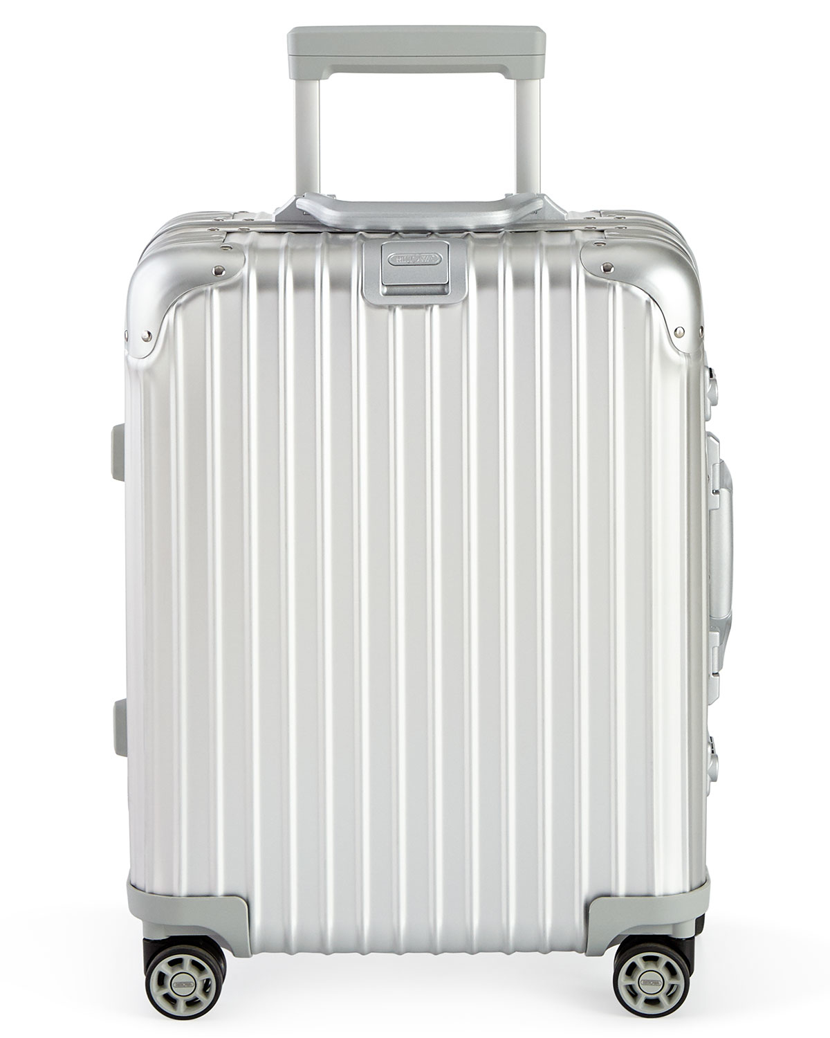 rimowa topas silver cabin multiwheel iata 52 in metallic lyst. Black Bedroom Furniture Sets. Home Design Ideas