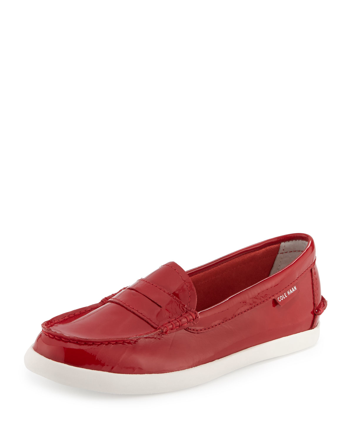 Klein Calvin Women's Patent Red Loafer Rock Black Flat EDONA Women's Loafer Flat Red EDONA Klein Patent Rock Black Calvin.