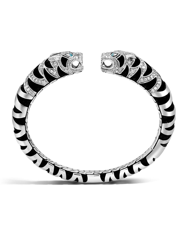 Lyst John Hardy Legends Macan Tiger Lava Small Diamond