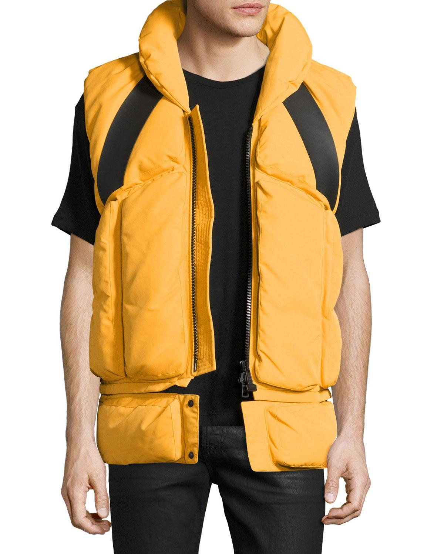 yellow moncler jacket