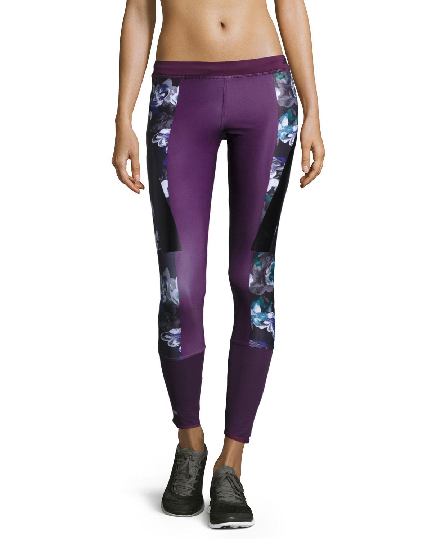 8616159a237f3 Lyst - Adidas By Stella Mccartney Run Techfit® Leggings in Purple