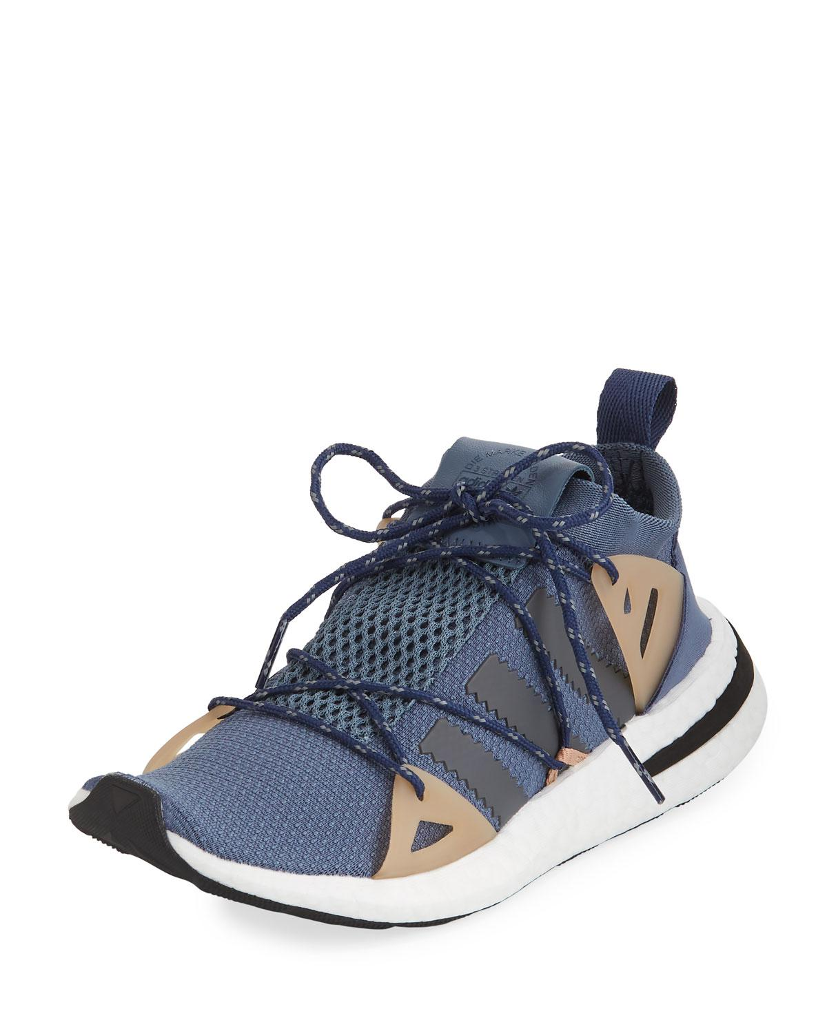 a9bd433464b9 Lyst - adidas Arkyn Colorblock Mesh Sneakers in Blue for Men