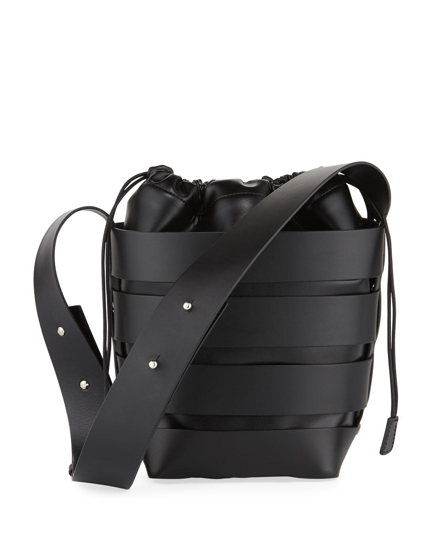 cage bucket bag - Black Paco Rabanne U8Q8RbEDN