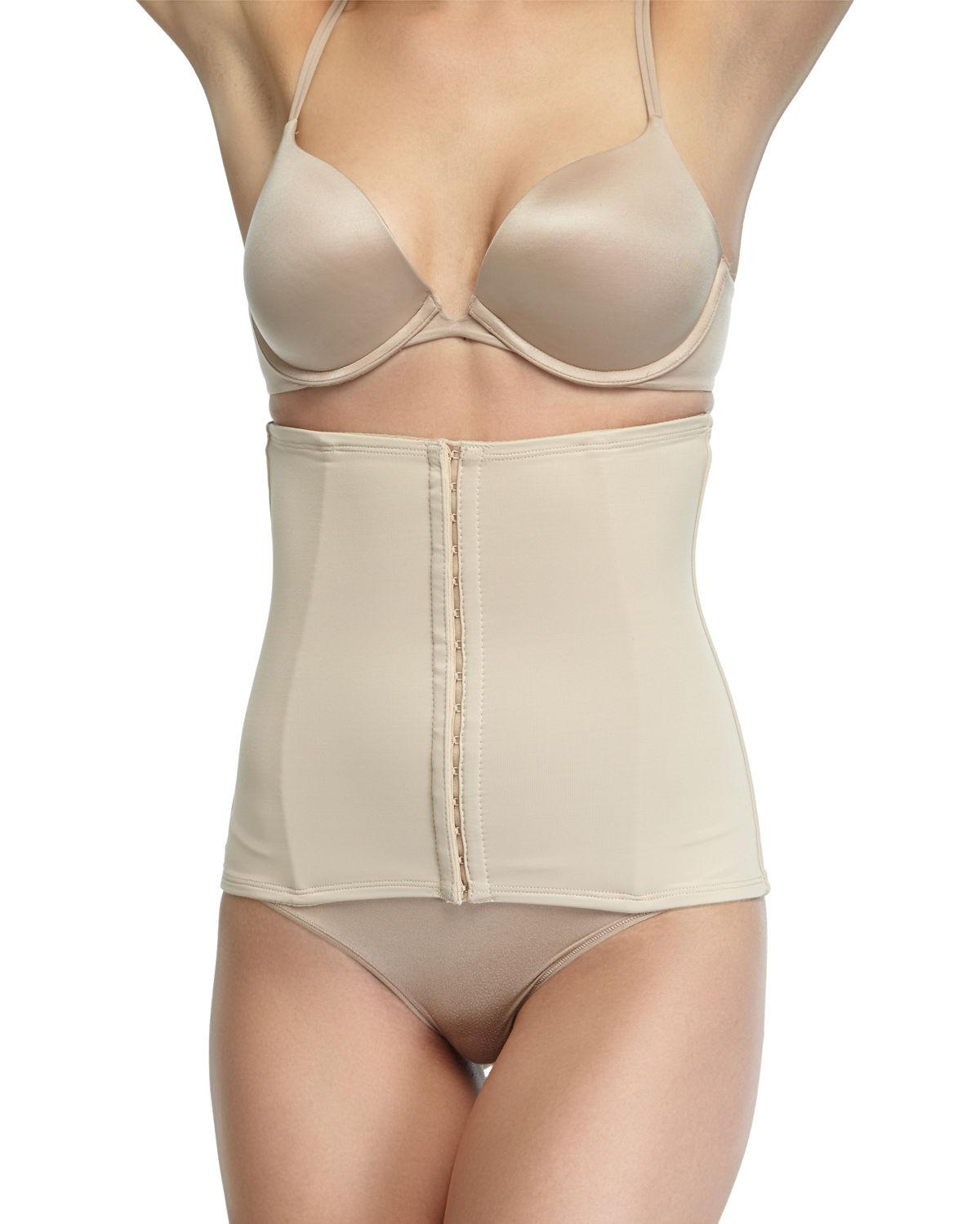 a2689bc507a Lyst - Tc Fine Intimates Hook   Eye Firm Waist Cincher in Natural