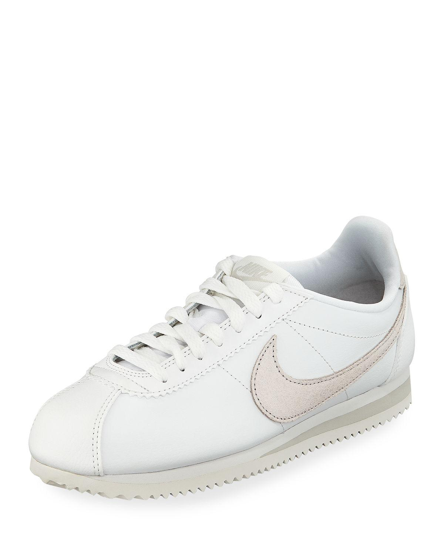 Lyst Nike Women's Classic Cortez Premium Sneaker in White