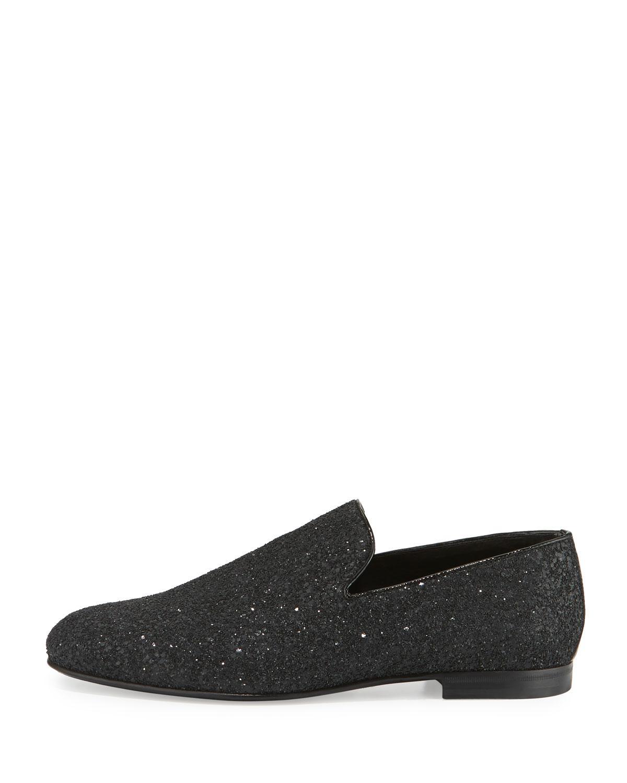 Sloane glittered slippers - Black Jimmy Choo London eFdFFB