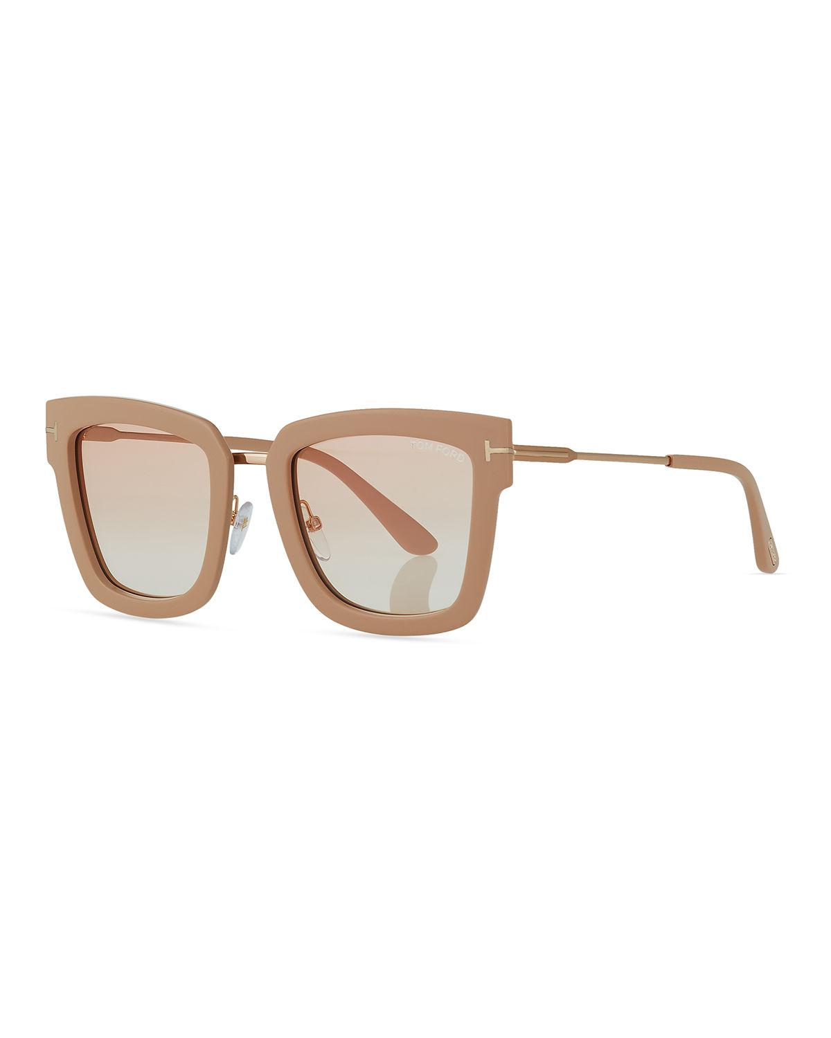 32c3325923 Gallery. Previously sold at  Neiman Marcus · Women s Oversized Square  Sunglasses Women s Acetate ...