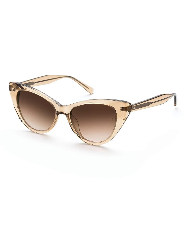 903ff0bb02b46 Lyst - Sunday Somewhere Piper Cat-eye Acetate Sunglasses in Brown