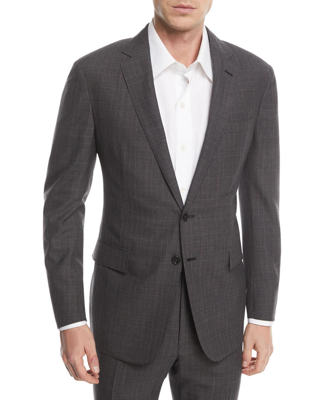 f518270c8 Lyst - Ralph Lauren Two-piece Glen Plaid Wool Suit in Gray for Men