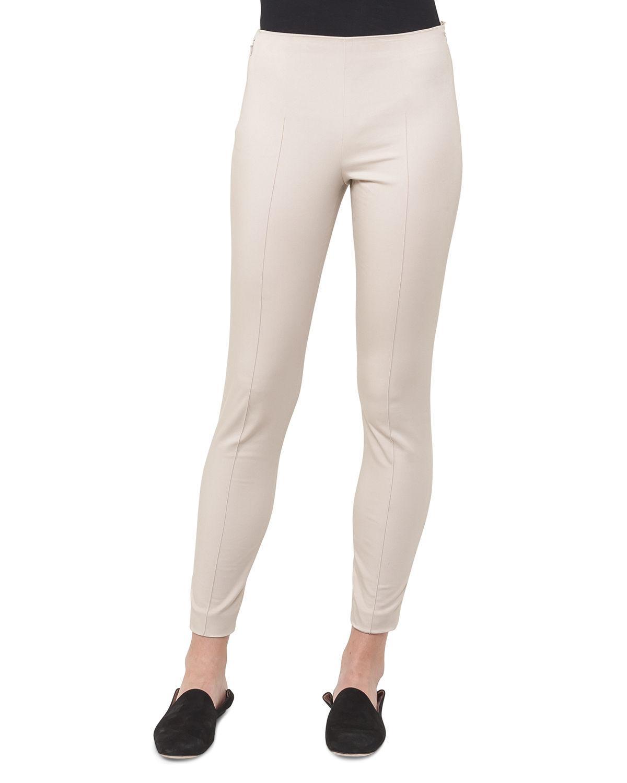 Melissa Stretch Cotton-blend Slim-leg Pants - Black Akris JWP6pzaK