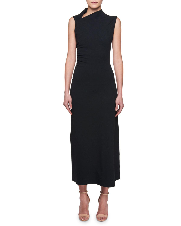 cowl neck long dress - Black Victoria Beckham Yq7Am3Eq