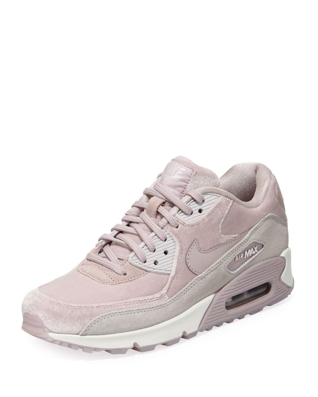 lyst nike air max 90 lx mescolato le scarpe da ginnastica in rosa
