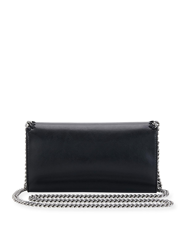 8d74fc07edd8 Lyst - Stella McCartney Falabella Eco Alter Faux-leather Clutch Bag ...