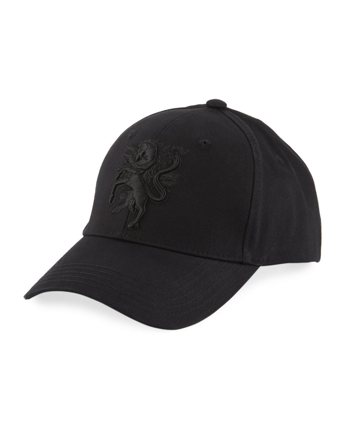 Lyst - Philip Treacy Baseball Cap W  Embroidered Logo in Red for Men 2247d3159a74