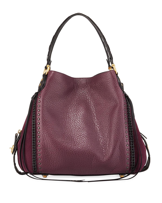 Lyst coach edie rivets and whipstitch hobo bag in purple jpg 1200x1500 Hobo  international border 0b6d3638d8