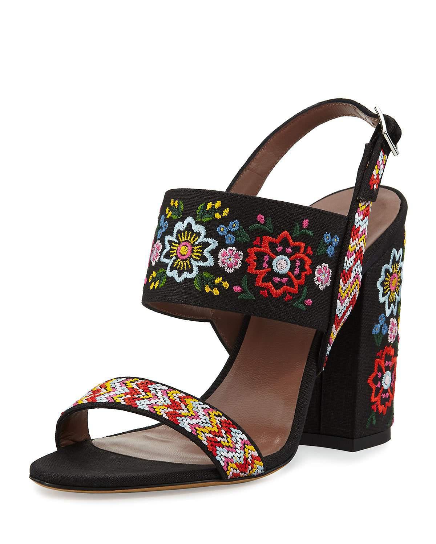 Senna festival embroidered sandal Tabitha Simmons dUDqf