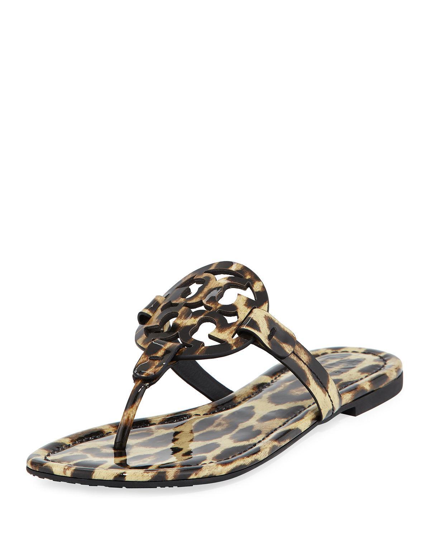 81fa1d0406f7 Tory Burch. Women s Miller Printed Flat Thong Sandals