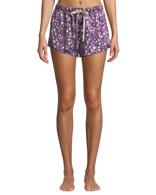 Morgan Lane. Women s Dandelion Martine Silk Pajama Shorts 1ce837843