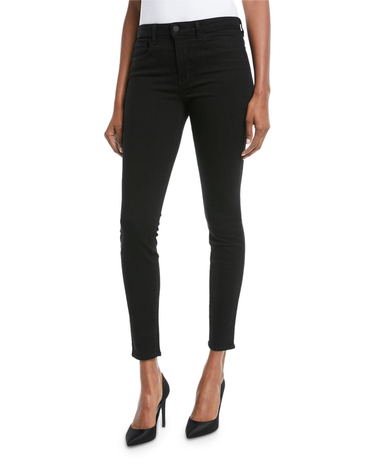 The Marguerite High-rise Skinny Jeans - Navy L'agence Really Cheap Price gGZKmr