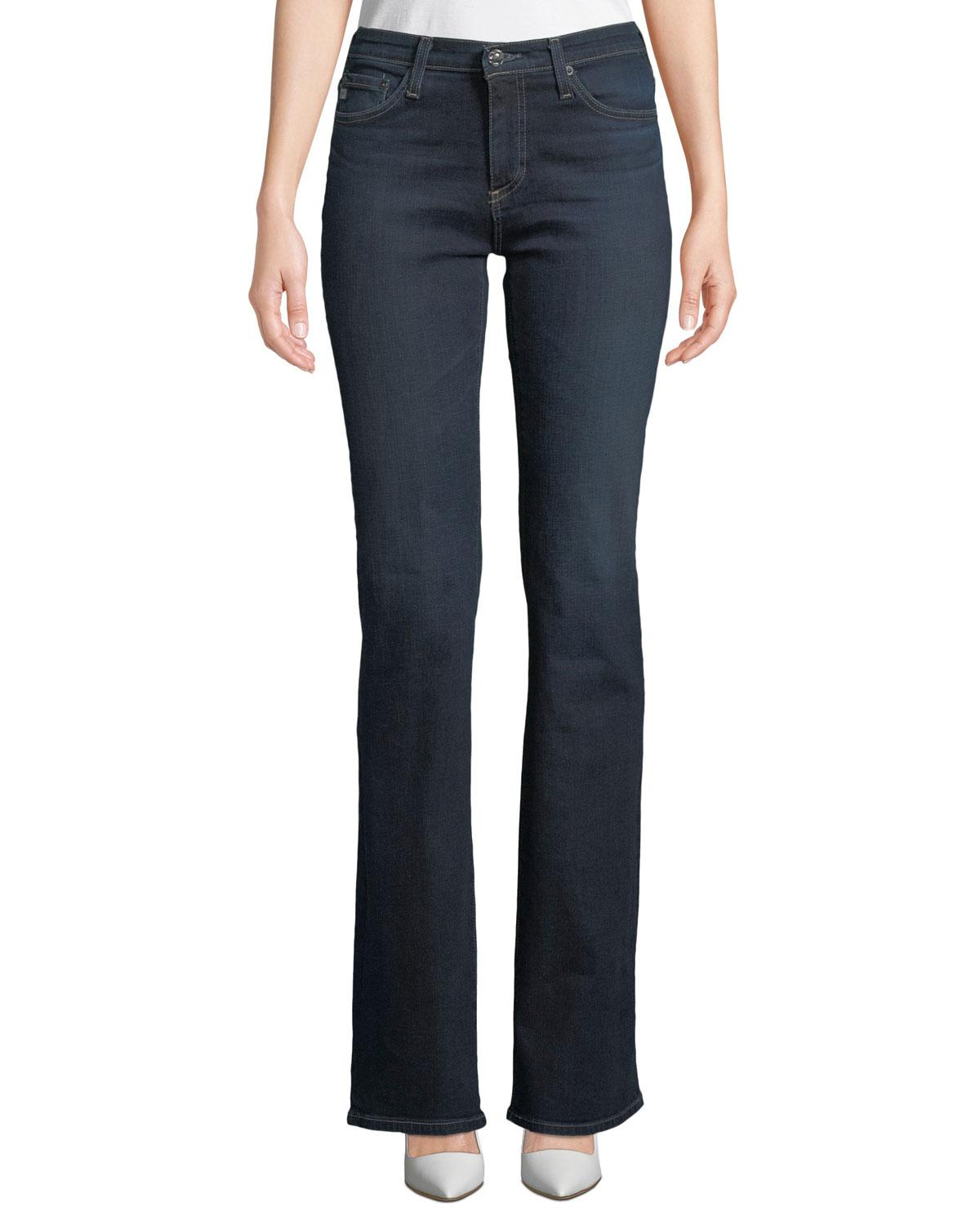bbb128bf16 Lyst - AG Jeans Angel 13 Years Mid-rise Boot-cut Jeans in Blue