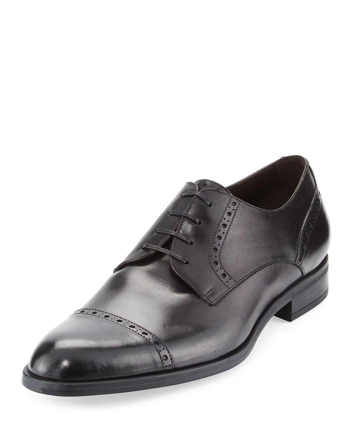Milano Cap-toe Leather Oxford Shoes Ermenegildo Zegna iJDPCbgt