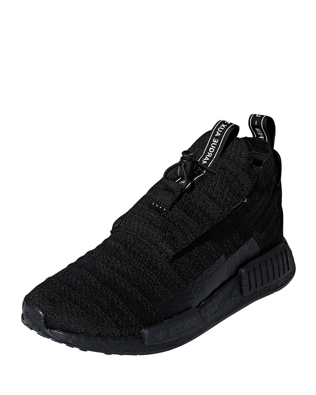 wholesale dealer df320 d55a7 adidas. Black Mens Nmdts1 Primeknit Trainer Sneakers
