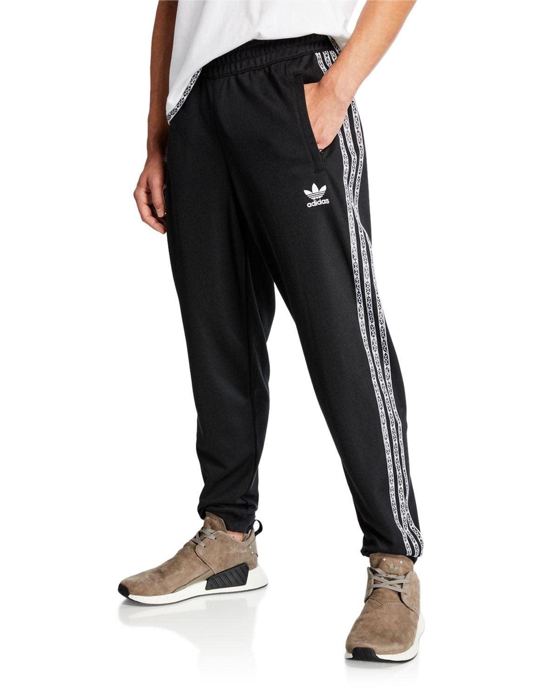 4126737d1ffb6 Adidas - Black Men s X Pharrell Williams Solarhu Side-stripe Track Pants  for Men -. View fullscreen