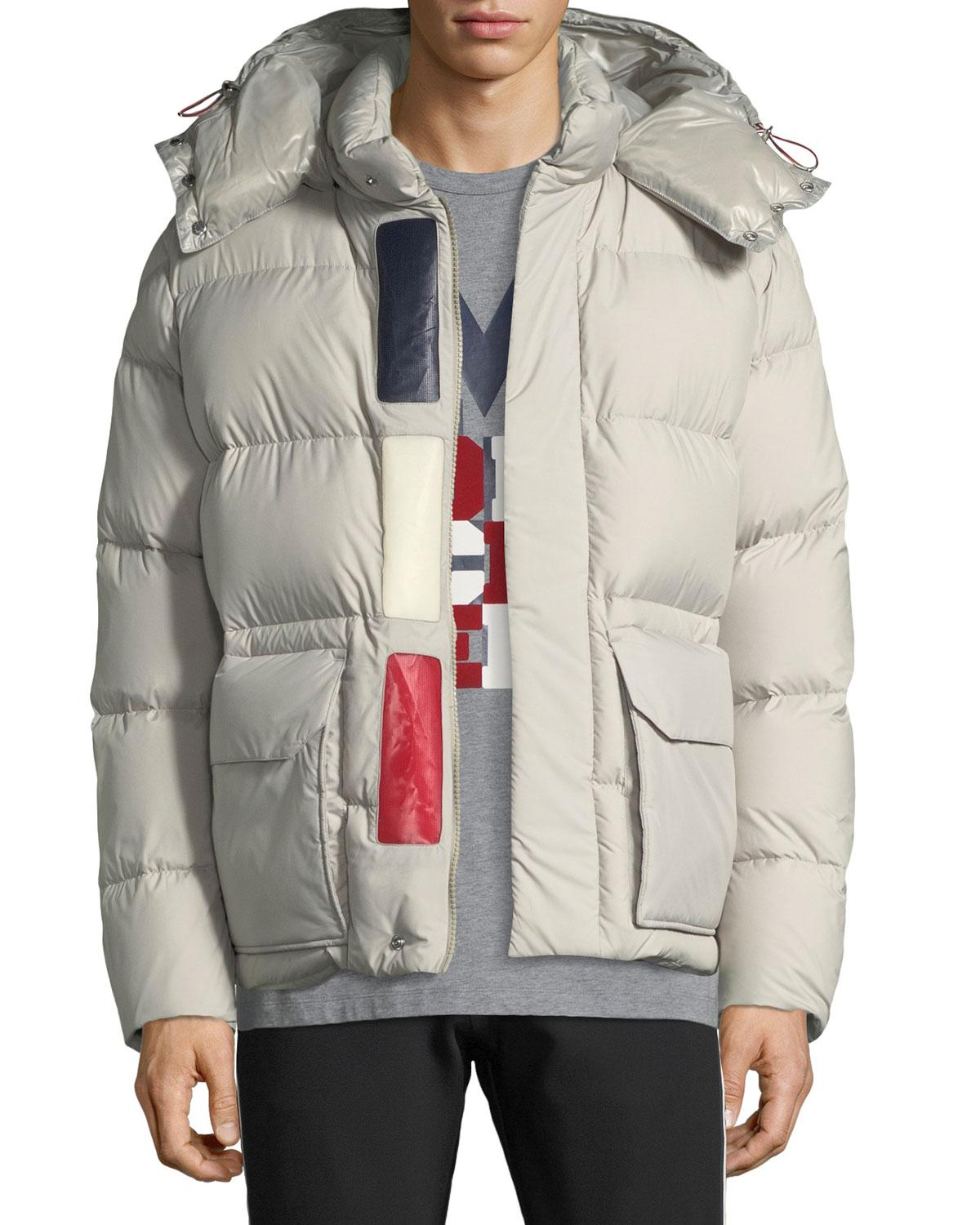 4aa67ab803c6 spain moncler fur hooded long puffer coat pattern sewing 3f1c1 dd9f0