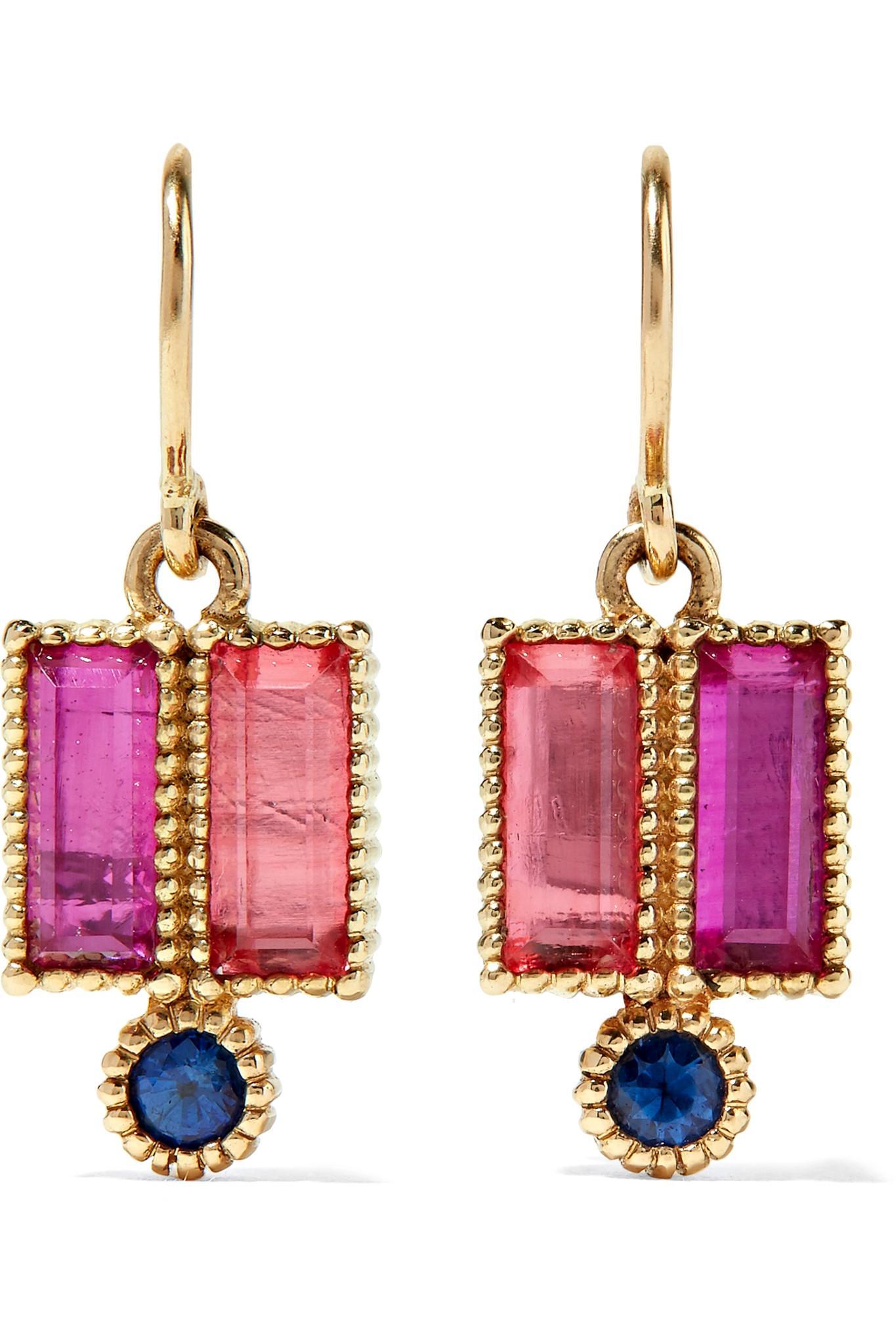 Larkspur & Hawk Cora 14-karat Gold Quartz Earrings 8KcjE6q1Ub