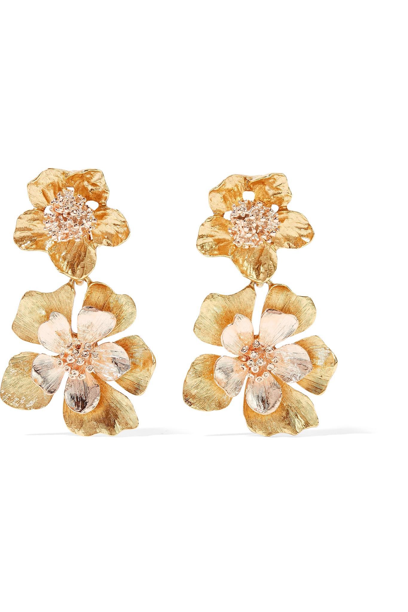Silver-tone Clip Earrings - One size Oscar De La Renta IqIU3noOY