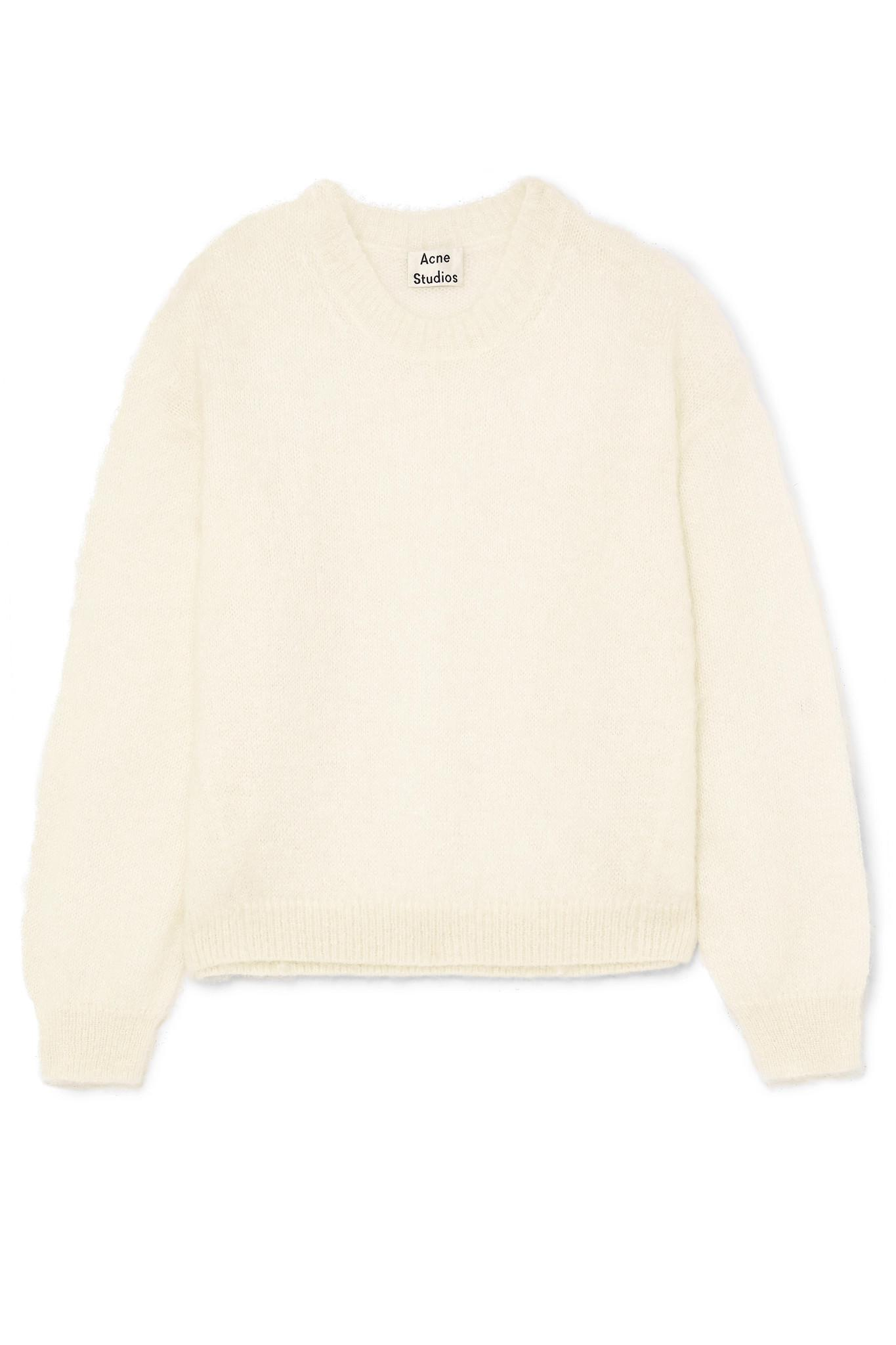Mitra knitted mohair blend jumper Acne Studios Cheap Sale The Cheapest sVIaTj