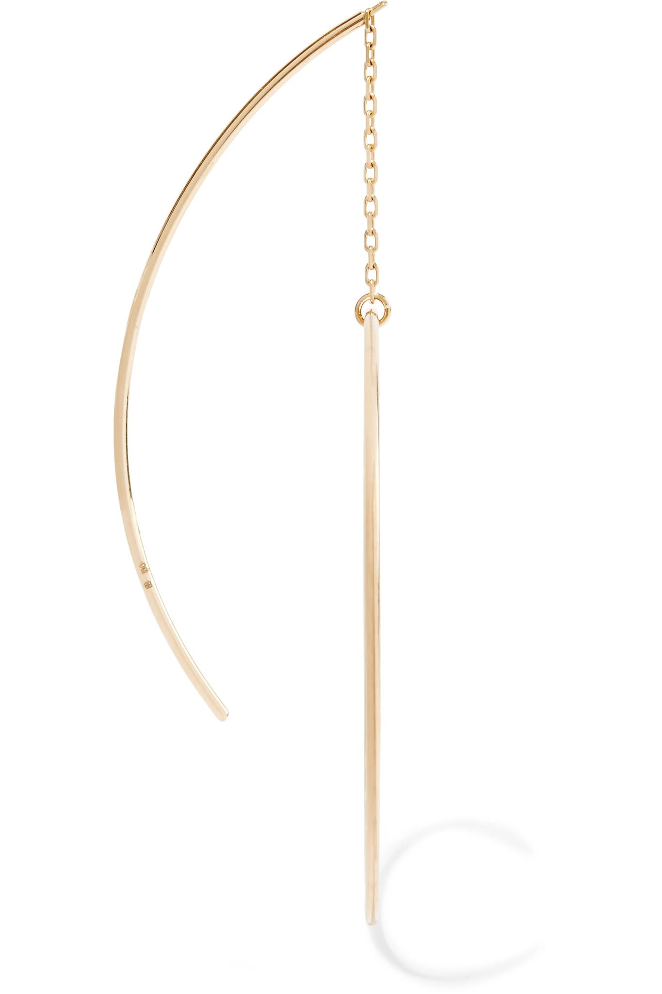Hirotaka Circle 10-karat Gold Earring DDvs0i