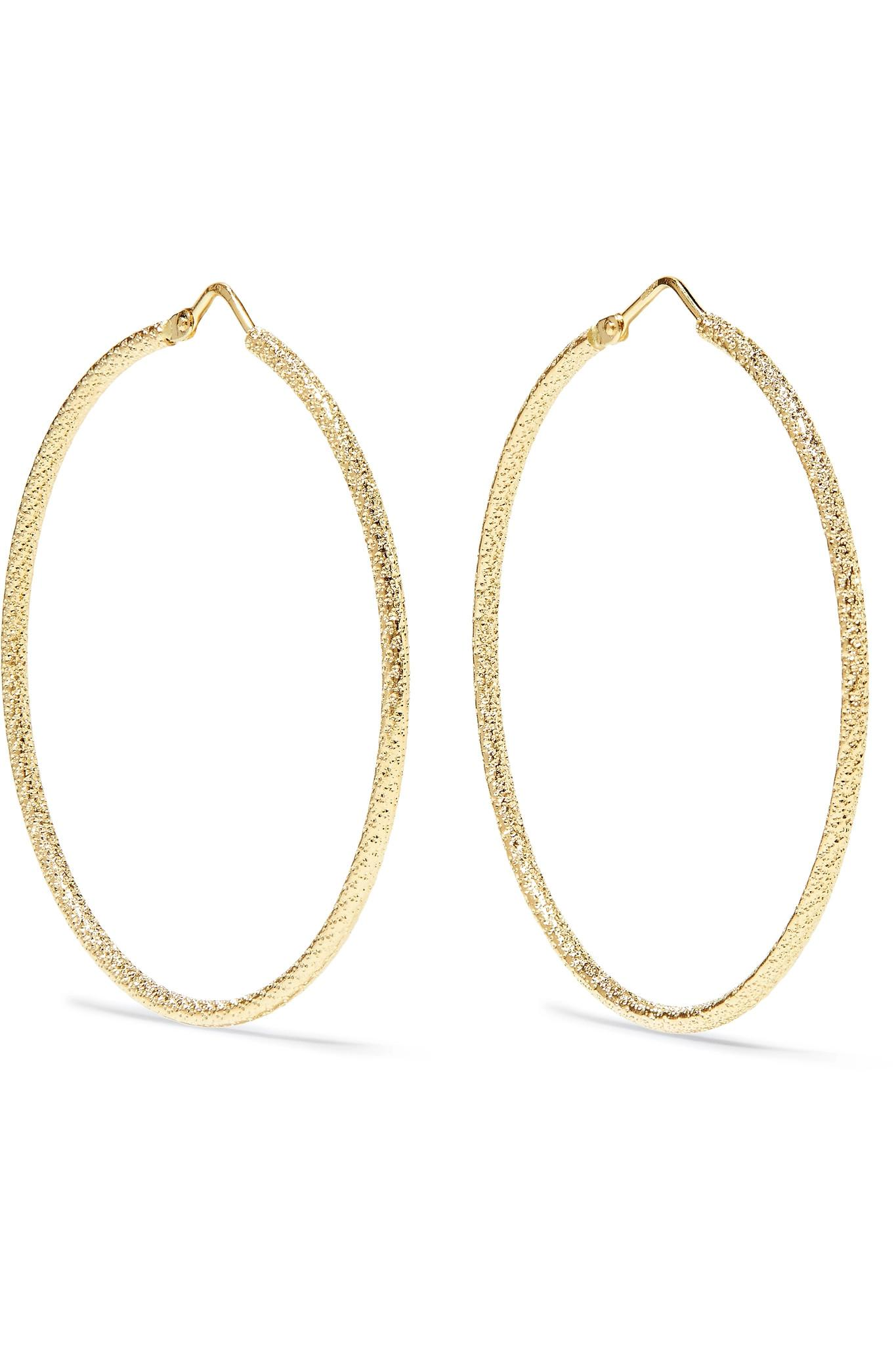 Carolina Bucci Florentine 18-karat Rose Gold Earrings SdzItqWzj