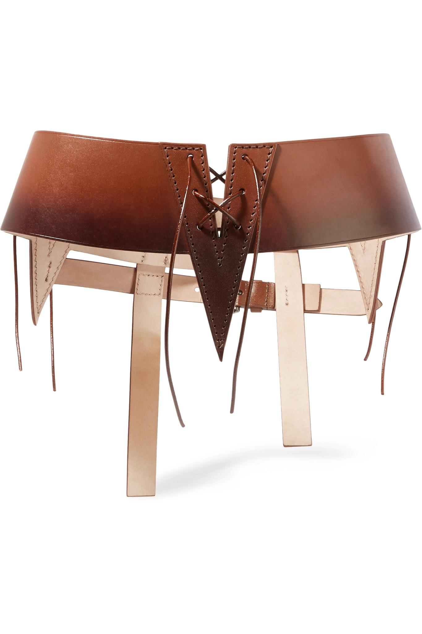Tom ford Cutout Ombré Leather Waist Belt