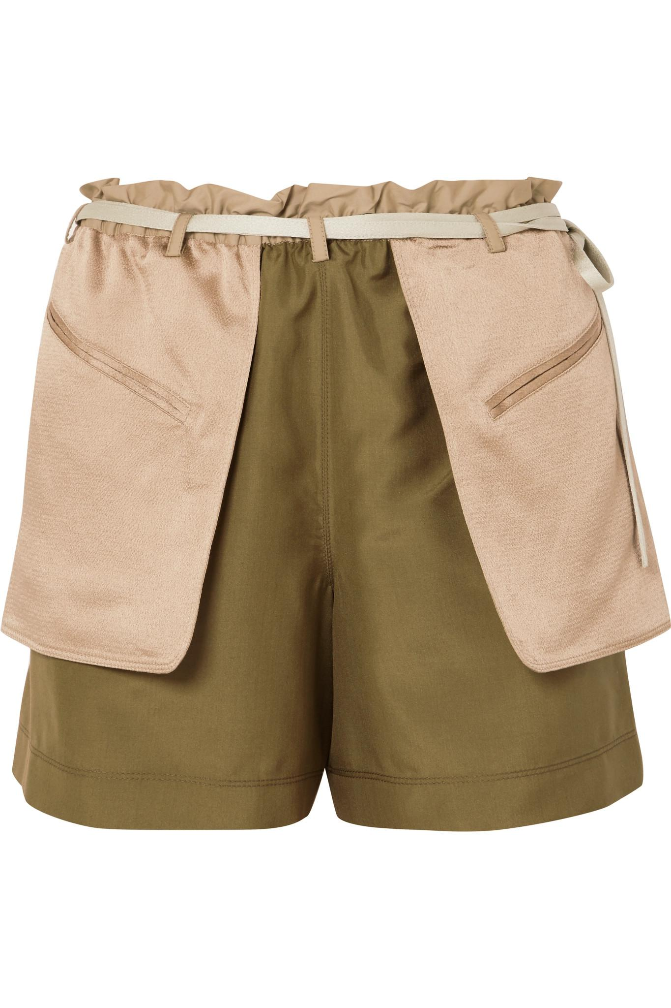 Comfortable Online Shopping Crêpe and satin shorts Valentino For Sale Finishline Purchase Your Favorite Outlet Visit New bqQlw